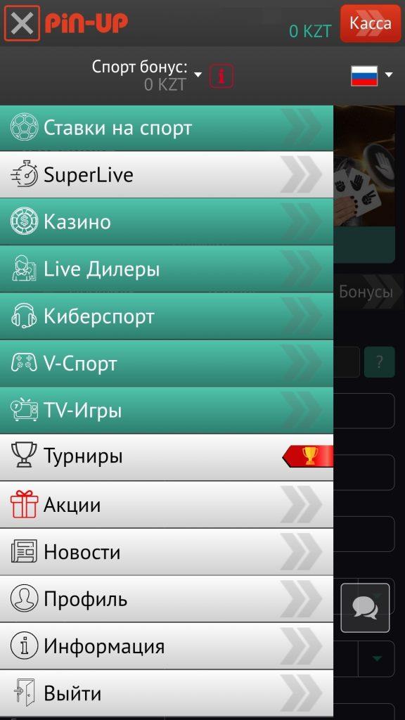 pin up bet скачать приложение